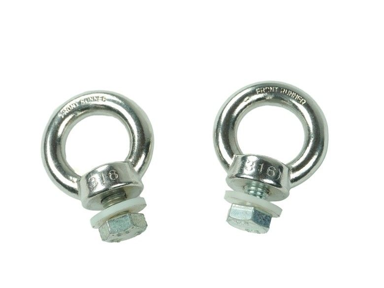 STAINLESS STEEL TIE DOWN RINGS - BY FRONT RUNNER
