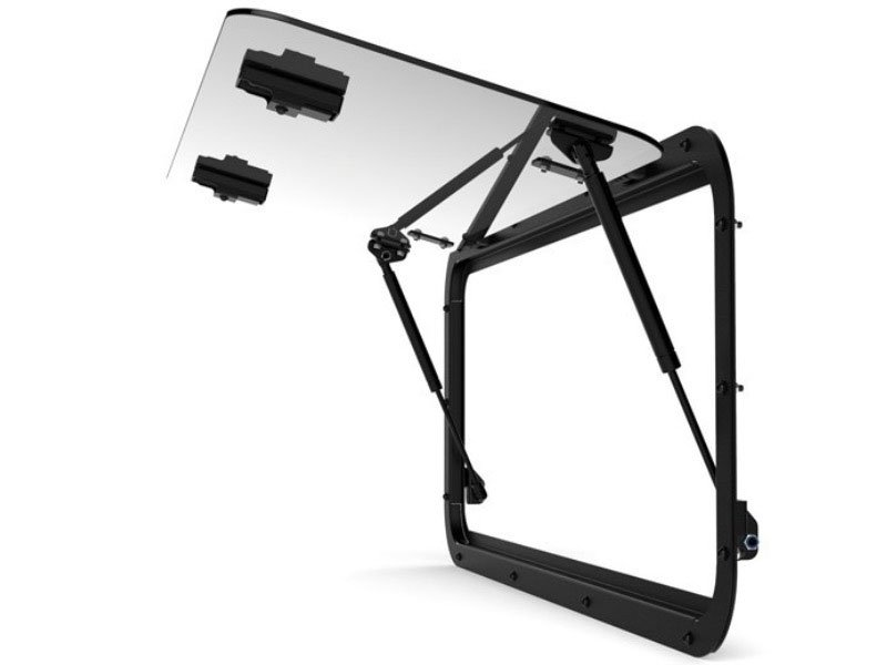 Land Rover Defender Gullwing Window / Glass - by Front Runner
