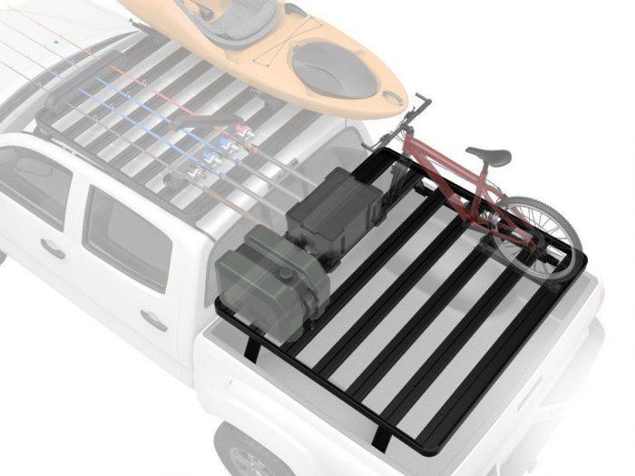 pick-up truck slimline ii load bed rack kit / 1425(w) x 1358(l) - by front runner