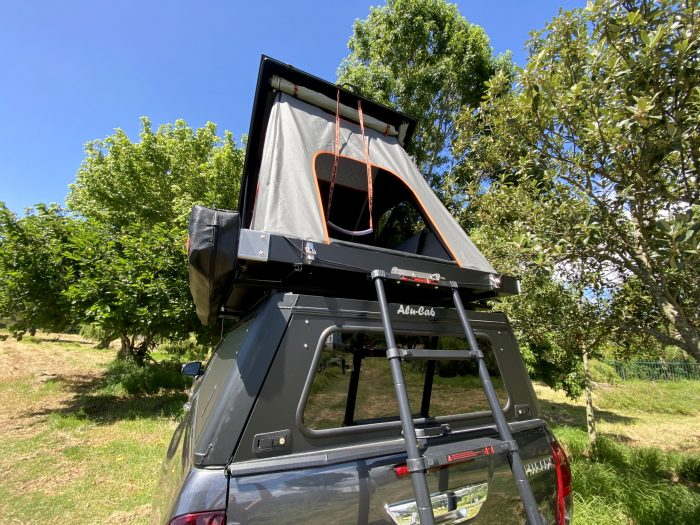 ALU-CAB UK GEN 3.1 New Roof Tent image ladder