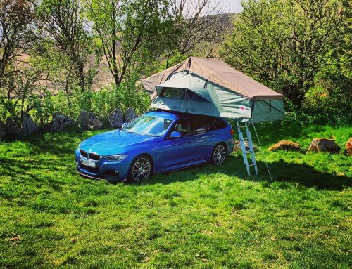 TUFF-TREK_TT-02_PRO_RUGGEDISED-ROOFTENT_GREEN_BMW_ESTATE