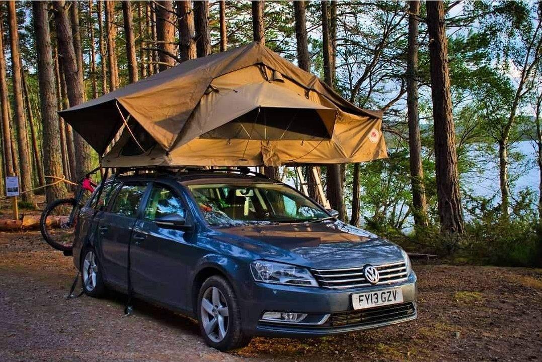 VW ESTATE CAR_TUFF-TREK_TT-02_GREY_CAR TOP TENT ROOF_TENT staycation 2021