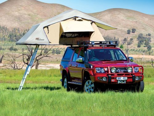 Roof Tent & Ladder, ARB Simpson 3