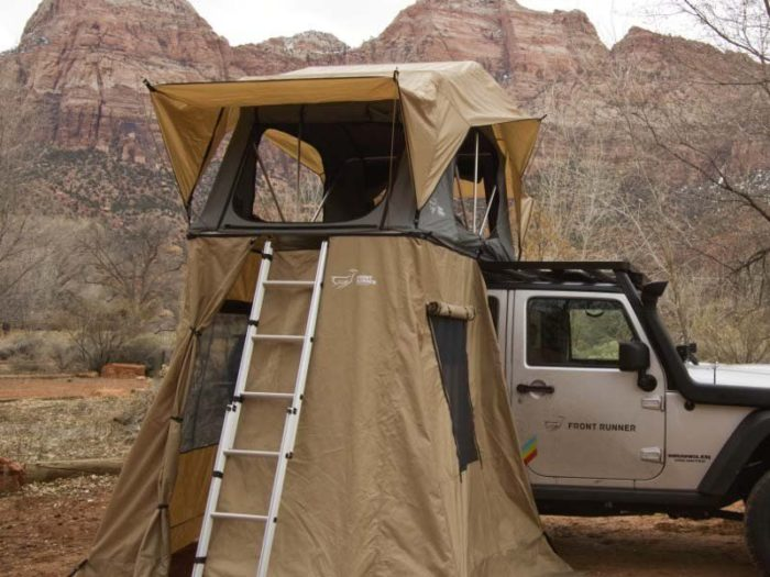 Roof Top Tent Shower Skirt