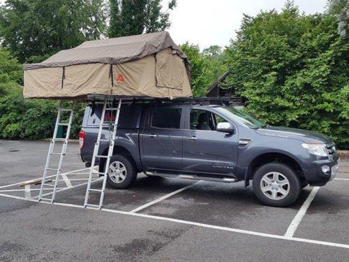 Tuff Trek TT02 2.2M Family Size Roof Tent