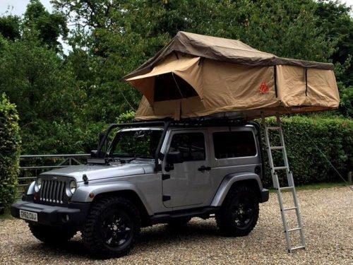 Tuff Trek TT02 1.4M Soft Top Tent PRO