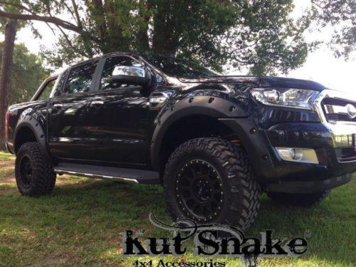 Kut Snake plastic fender flares Ford Ranger PX 55mm Ford