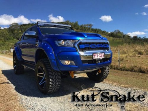 Kut Snake MONSTER plastic fender flares Ford Ranger PX 95mm Ford