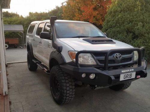 Kut Snake plastic fender flares Toyota Hilux 2005-2012 Toyota