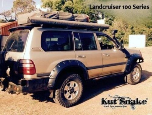 Kut Snake MONSTER plastic fender flares Toyota Land Cruiser 100/105 95mm