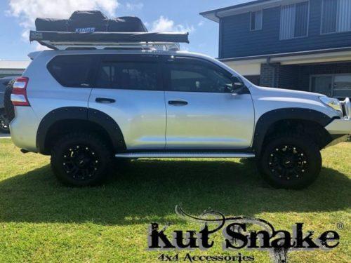 Kut Snake plastic wheel fender flares Toyota Land Cruiser 150 Toyota