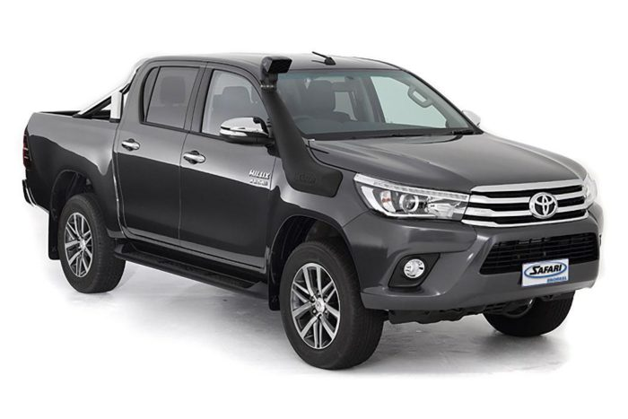 TOYOTA HILUX (Oct 2015 onwards)high flowing ARMAX performance snorkels