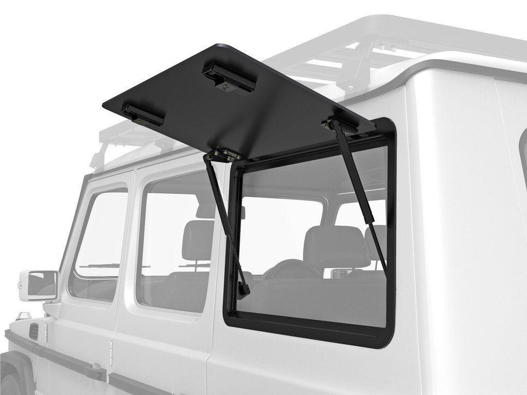Mercedes Benz Gelandewagen Gullwing Window / Right Hand Side Aluminium