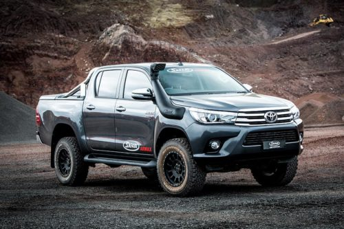 TOYOTA HILUX (Oct 2015 onwards) high flowing ARMAX performance snorkels