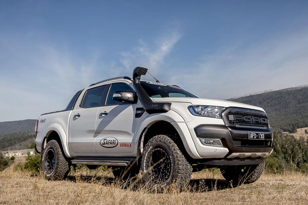 FORD Ranger T6 (PX & PX MK2) 2011 ONWARDShigh flowing ARMAX performance snorkels