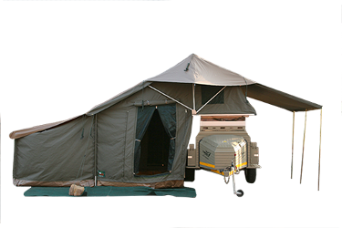 Family Safari Trailer Tent: