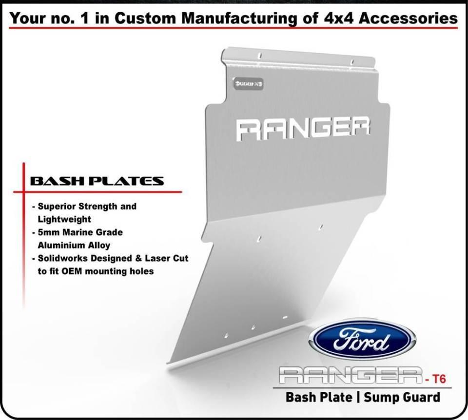 Ford Ranger T6 Skid Plate