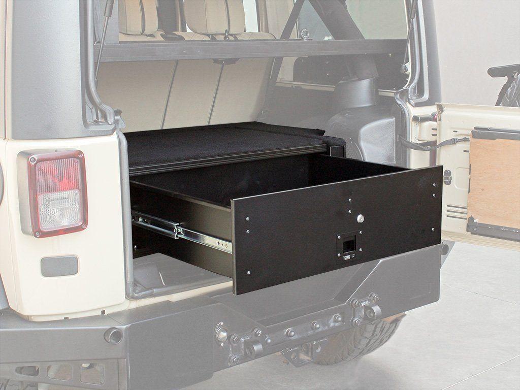 Jeep Wrangler JKU 4-Door (2007-Current) Drawer Kit