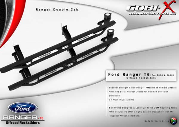 Rockslider - Ford T6