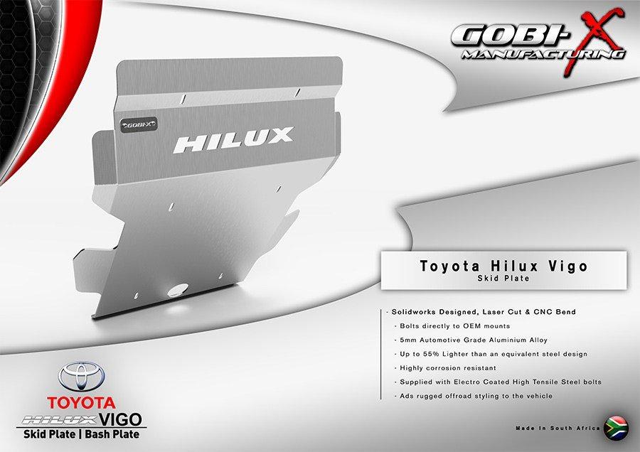 Hilux Vigo Skid Plate