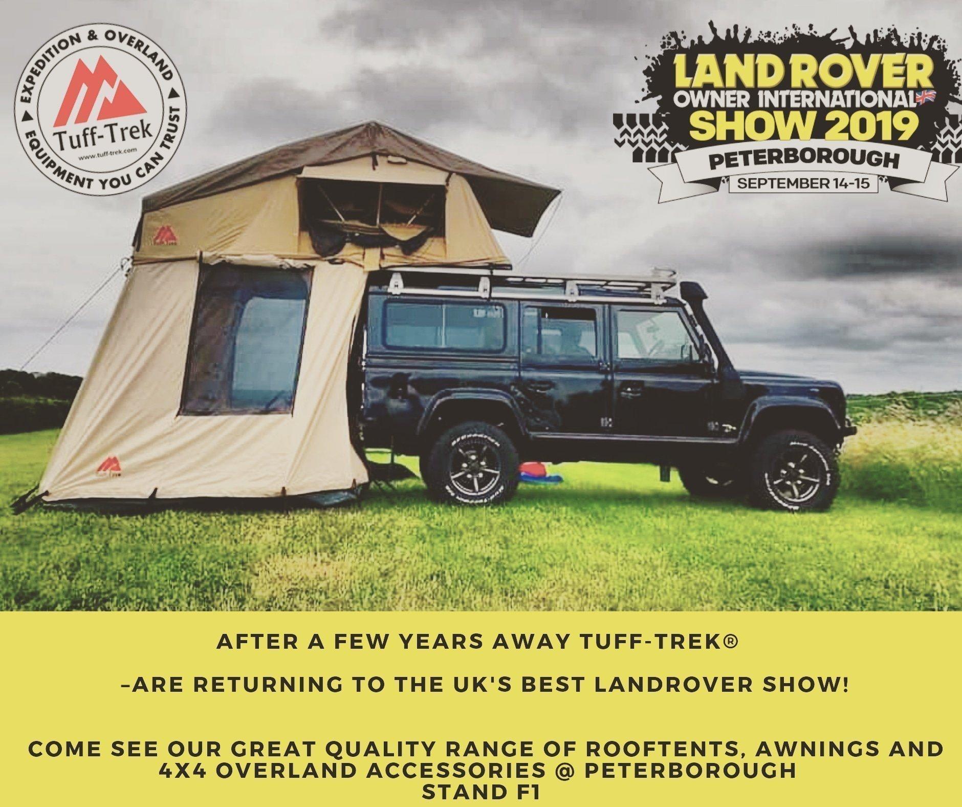 Peterborough Land Rover Owners Show 2019 Tuff Trek