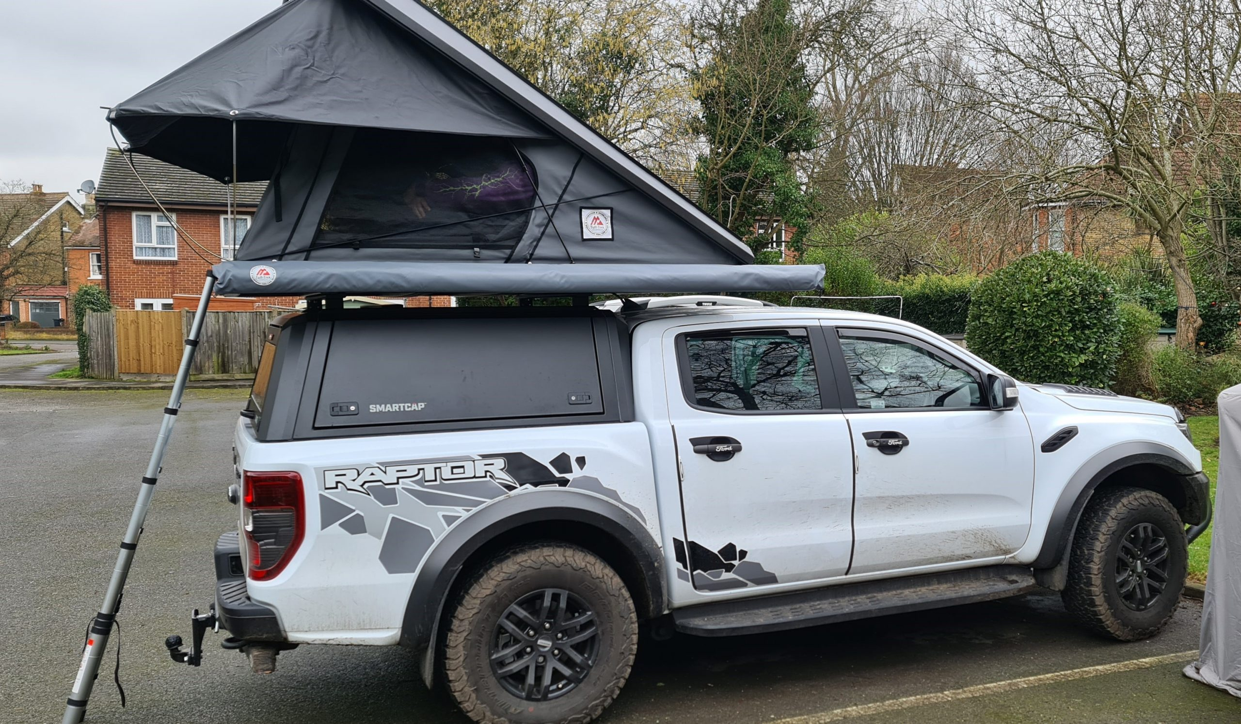 Tuff-Trek Overland Series MK2 Aluminium Hard Top Roof Tent 001