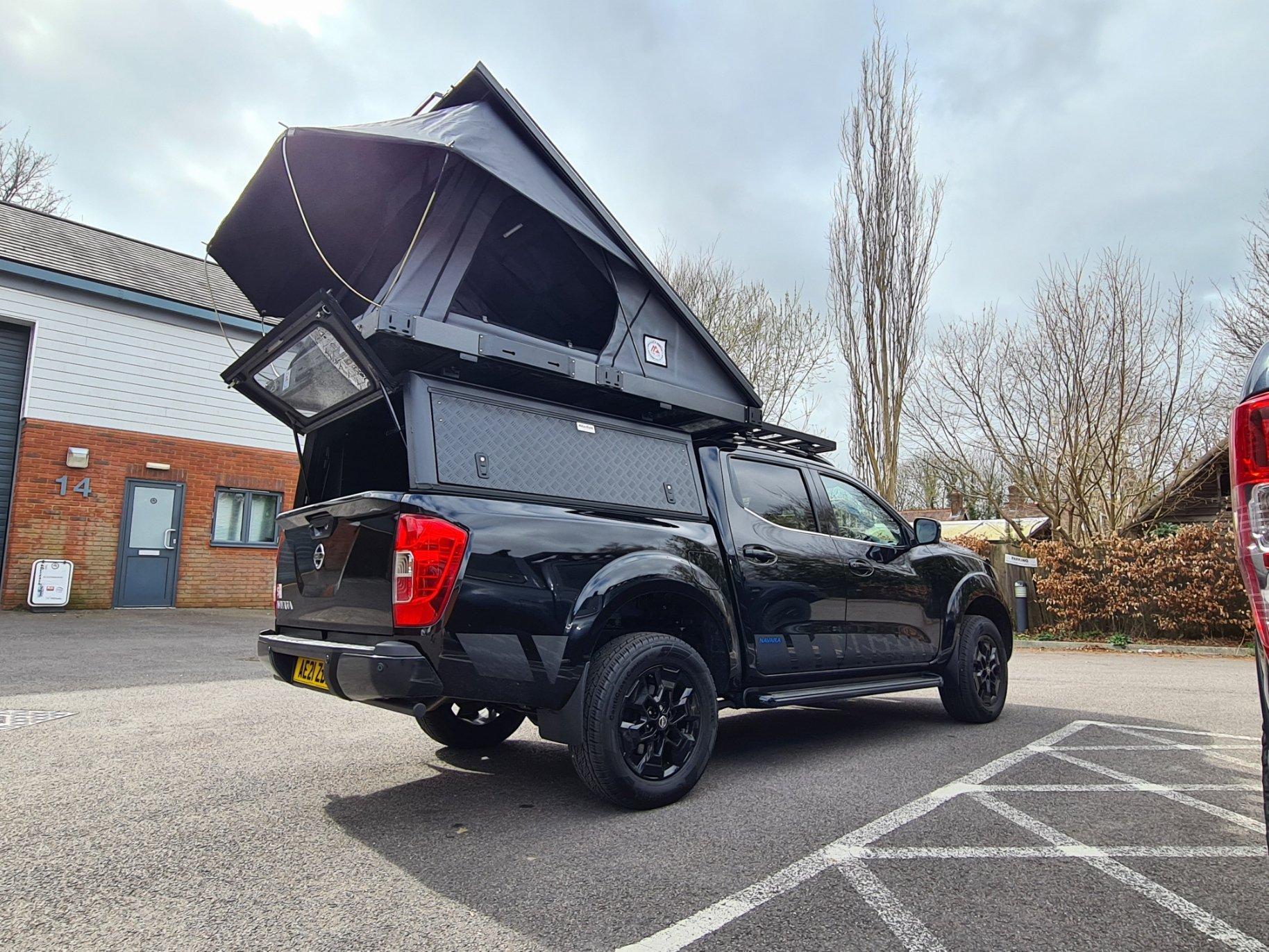 tuff-trek 4x4 overland series mk2 aluminium roof top tent