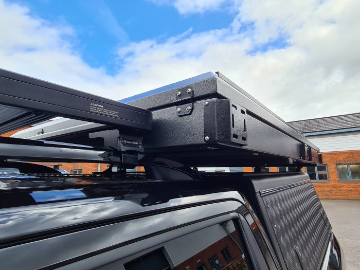 TUFF-TREK ALUMINIUM OVERLAND SERIES MK2 HARD TOP ROOF TENT UK