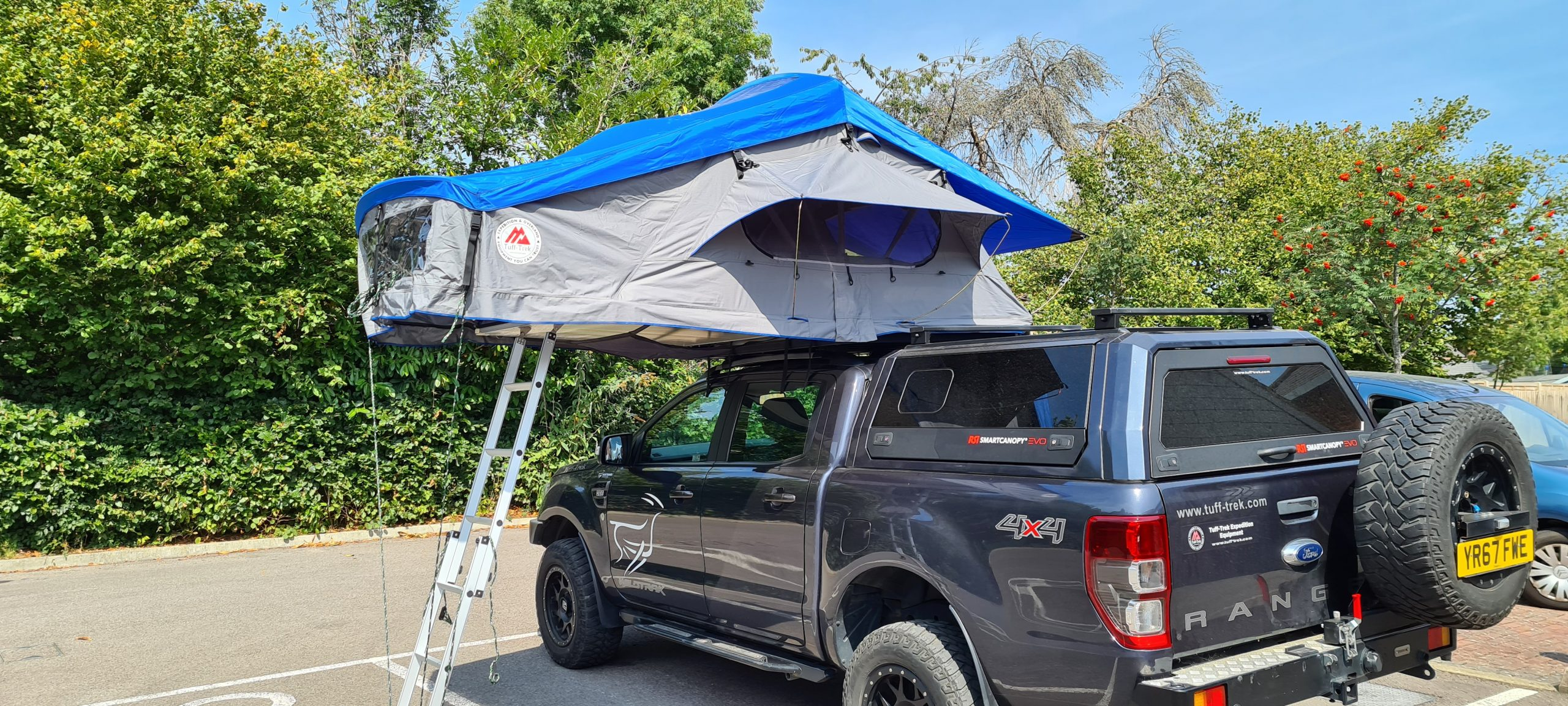 TUFF-TREK TT-03 SKYTOP ROOFTENT UK 005