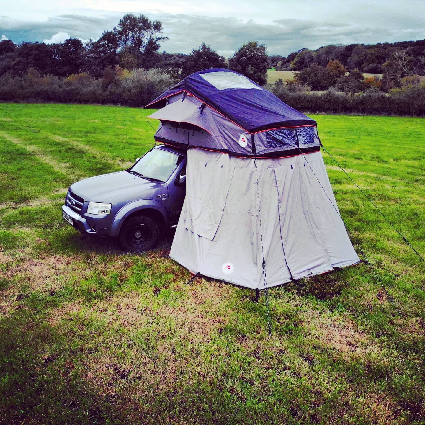 Uk's best value TT-03 ROOF TENT on Ranger Jan 2021