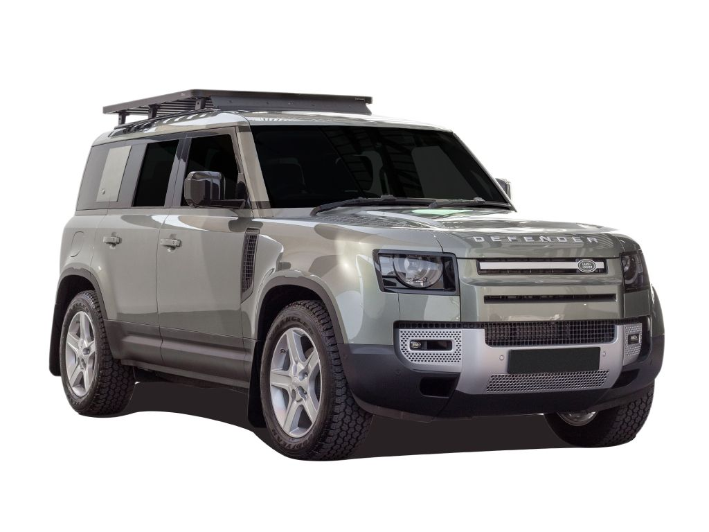 Land Rover New Defender 110 W Oem Tracks Roof Rack Kit Krld037t By Front Runner Tuff Trek
