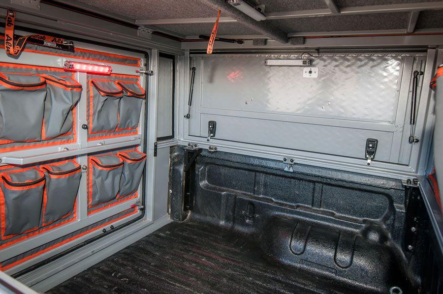 ALU-CAB UK Canopy Camper interior image TUFF-TREK 4X4