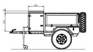 METALIAN UK - GENIE CAMPING TRAILERS UKTUFF-TREK 002