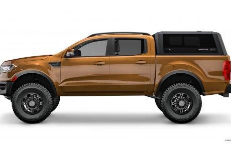 SmartCap EVO Ford Ranger 2 Drivers Side_TUFF-TREK_UK